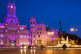 Plaza de Cibeles in Madrid — Stock Photo