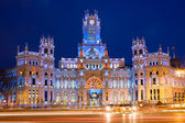 Palacio de Comunicaciones in Madrid — Stock Photo