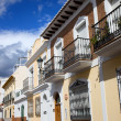 Houses in Nerja Town — Stock Photo