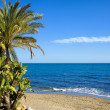 Marbella Beach in Spain — Stock Photo