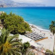 Nerja Beach on Costa del Sol — Stock Photo