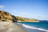 Costa del Sol Beach in Nerja — Stock Photo