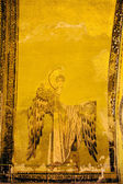 Guardian Angel Byzantine Art — 图库照片