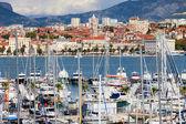 Split Cityscape — Stock Photo