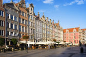 Long Market in Gdansk — Stock Photo