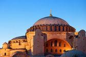 圣索非亚大教堂索菲亚在伊斯坦布尔 — 图库照片