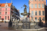 Gdansk Old City in Poland — Stock Photo