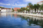 Waterfront Promenade in Split — Stock Photo