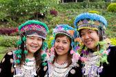 Hmong Hill Tribe Girls — Stock Photo