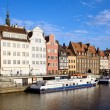 Stock Photo: Gdansk Old Town in Poland