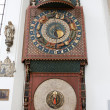Astronomical Clock in St. Mary's Church — Foto Stock