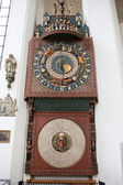 Astronomical Clock in St. Mary's Church — Stockfoto