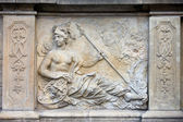 Athena Relief in Gdansk — Stock Photo