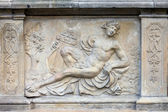 Apollo Relief in Gdansk — Stock Photo