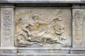 Chronos Relief in Gdansk — Stock Photo
