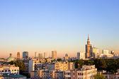 Warsaw Cityscape — Stock Photo