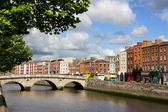 Dublin Cityscape — Stock Photo