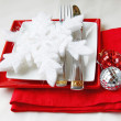 Festive serving of table — Stock Photo