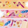 Glad background to the Purim — Stock Vector #9559584