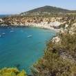 Blue sea at Ibiza — Stock Photo