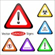 Warning Signs — Stock Vector