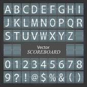 Scoreboard — Stock Vector