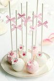 Tort weselny wyskakuje — Zdjęcie stockowe