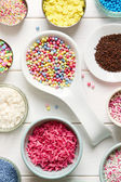 Candy sprinkles — Stock Photo