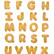 Cookie alphabet — Stock Photo #10656556