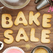 Stock Photo: Bake sale cookies
