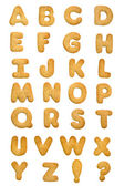 Cookie alphabet — Stock Photo