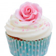 Rose cupcake — Stock Photo #8482093