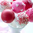 Valentine cake pops — Stock Photo #8670593