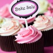 Cupcakes for a bake sale - Stock Photo