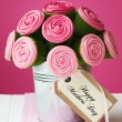 Mother's day cupcake bouquet - Stock fotografie