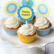 Stock Photo: Easter cupcakes