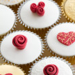 Wedding cupcakes — Stock Photo #9373092