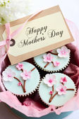 Mother's day cupcakes — 图库照片