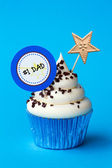 Father's day cupcake — Stockfoto