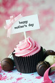 Mother's day cupcake — Stok fotoğraf