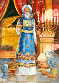 Ancient Israel. High priest — Zdjęcie stockowe