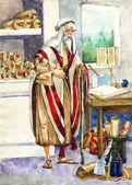 Ancient Israel. Scribe — Stock Photo