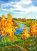 Bright Autumn — Stock Photo