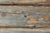 A fragment of a wooden wall — Stock Photo