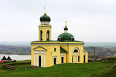 Old church in Khotyn, Western Ukraine — Stock Photo