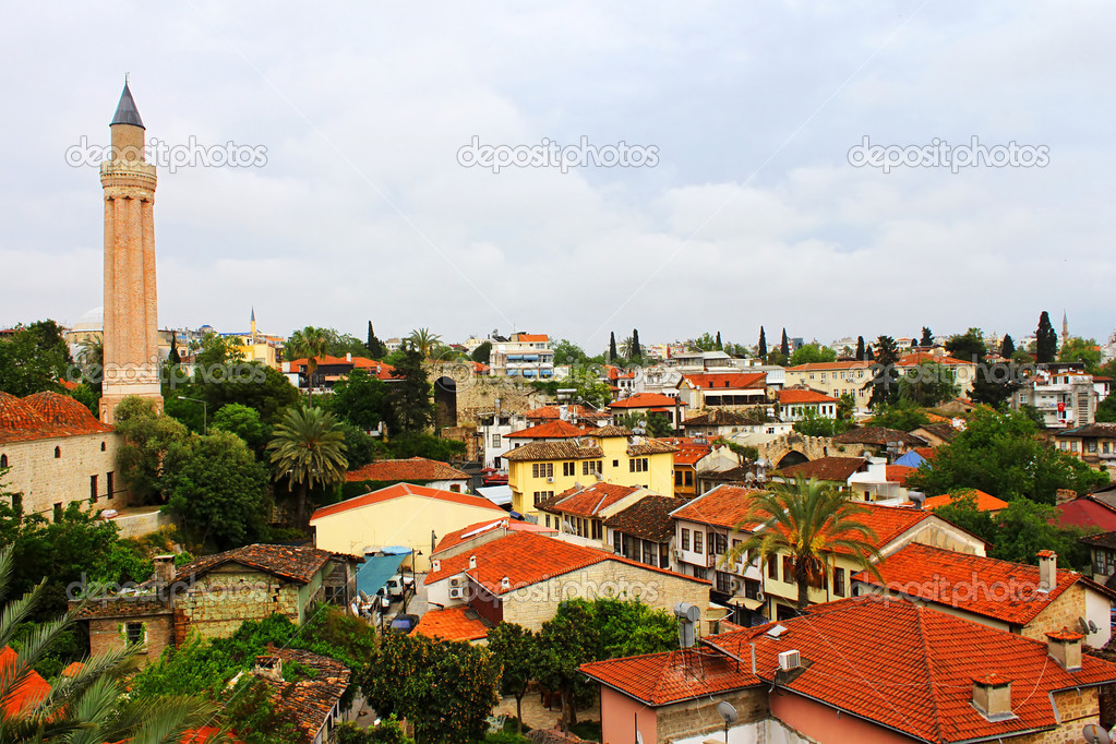 Old Antalya. Turkey — Stock Photo #10451038