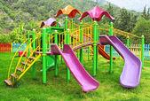 Colored playground — Stock Photo