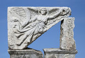 The goddess of victory (Nika), Ephesus, Turkey — Stock Photo