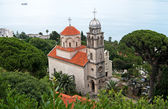 Savina Monastery is a Serb Orthodox monastery near the city Herceg Novi, Mo — Stock Photo
