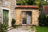 Old doors, Montenegro — Stock Photo